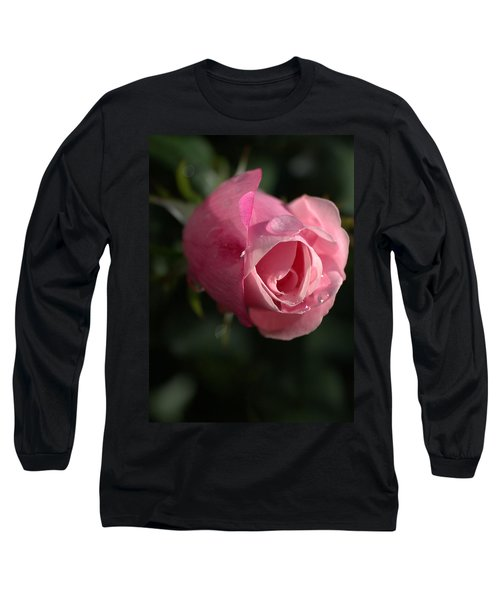 Water And Rose Long Sleeve T-Shirt