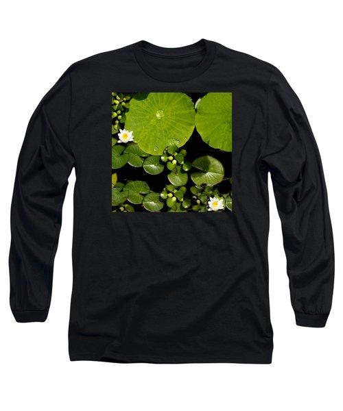 Water Drops Bristol Rhode Island Long Sleeve T-Shirt by Tom Prendergast