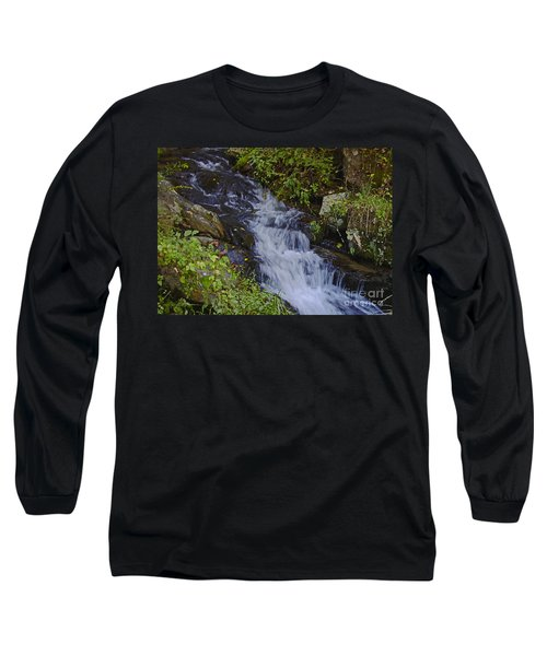 Water Falling Long Sleeve T-Shirt