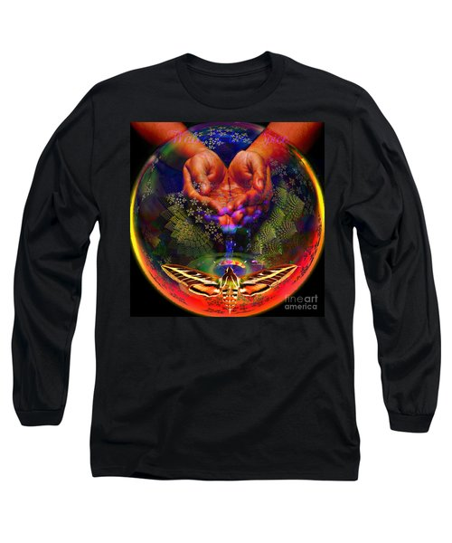 Water Is The Spice Long Sleeve T-Shirt by Joseph Mosley