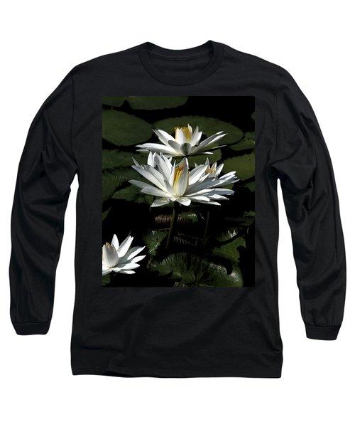 Water Lilies Long Sleeve T-Shirt