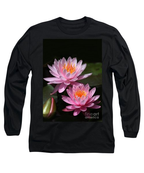 Water Lilies Love The Sun Long Sleeve T-Shirt