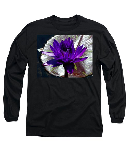 Water Lily 008 Long Sleeve T-Shirt