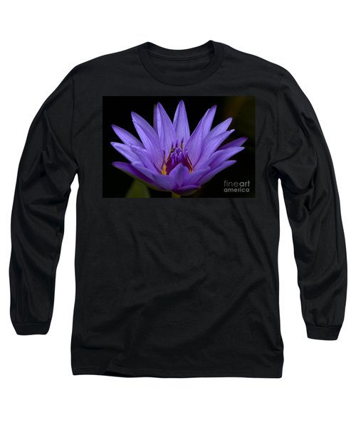 Long Sleeve T-Shirt featuring the photograph Water Lily Photo by Meg Rousher