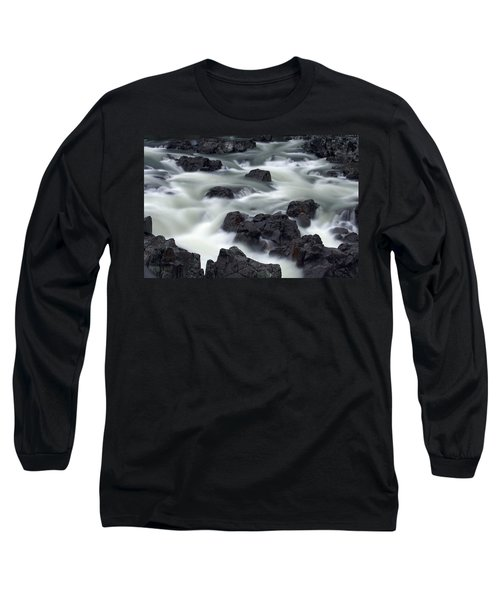 Water Over Rocks Long Sleeve T-Shirt
