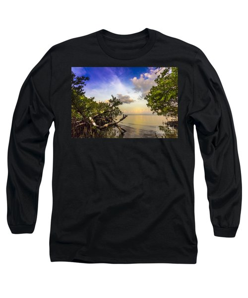Water Sky Long Sleeve T-Shirt by Marvin Spates