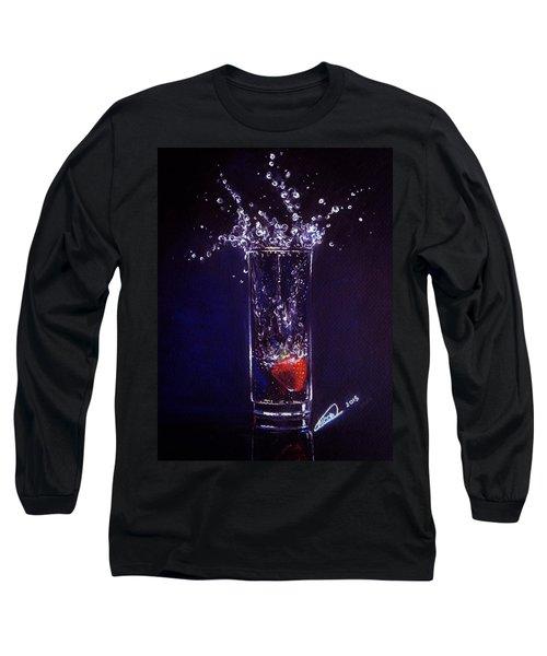 Water Splash Reflection Long Sleeve T-Shirt