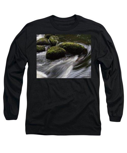 Water Swirl Long Sleeve T-Shirt