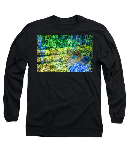 Water Tree Reflections Long Sleeve T-Shirt