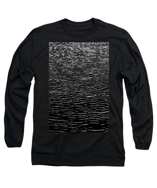 Water Wave Texture Long Sleeve T-Shirt