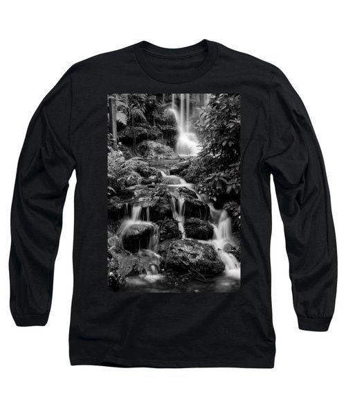 Waterfall At Rainbow Springs Long Sleeve T-Shirt