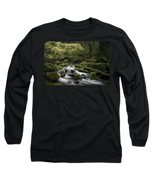 Waterfall In The Fall Long Sleeve T-Shirt