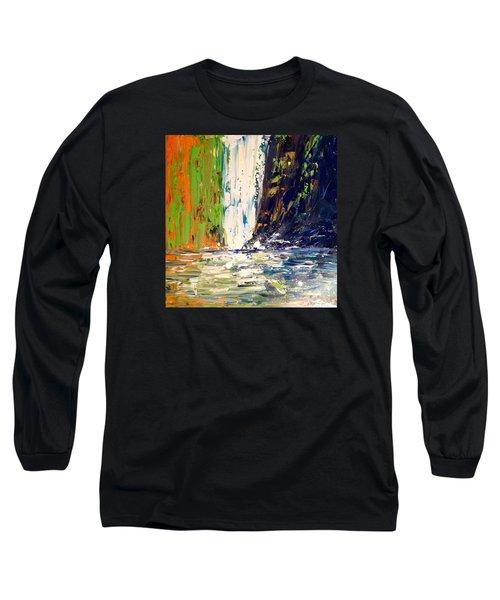 Waterfall No. 1 Long Sleeve T-Shirt