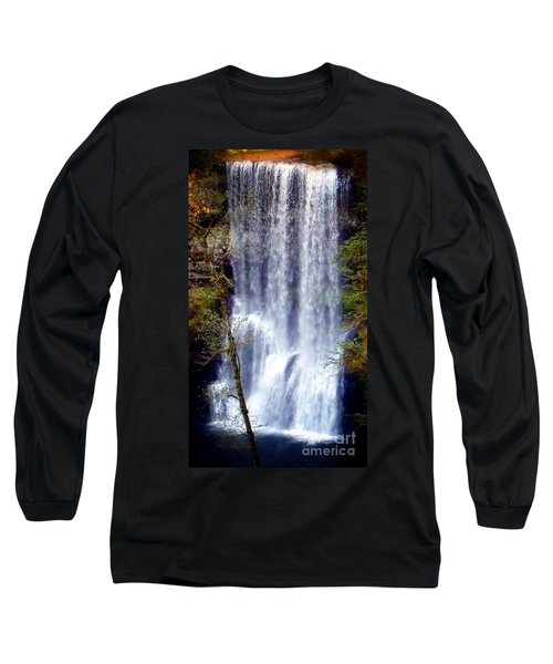 Waterfall South Long Sleeve T-Shirt by Susan Garren