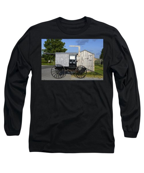 Watermelon Wagon Long Sleeve T-Shirt