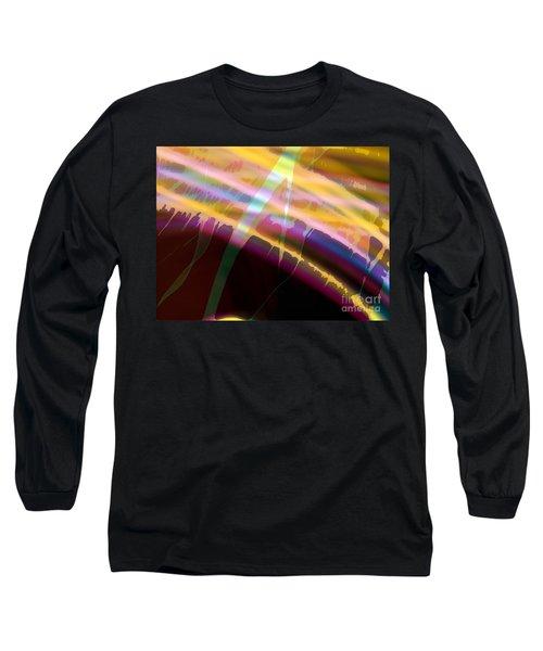Long Sleeve T-Shirt featuring the photograph Wave Light by Luc Van de Steeg