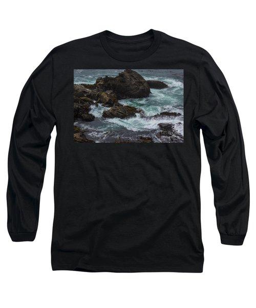 Waves Meet Rock Long Sleeve T-Shirt