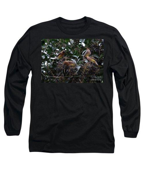 Wax Wings Supper  Long Sleeve T-Shirt