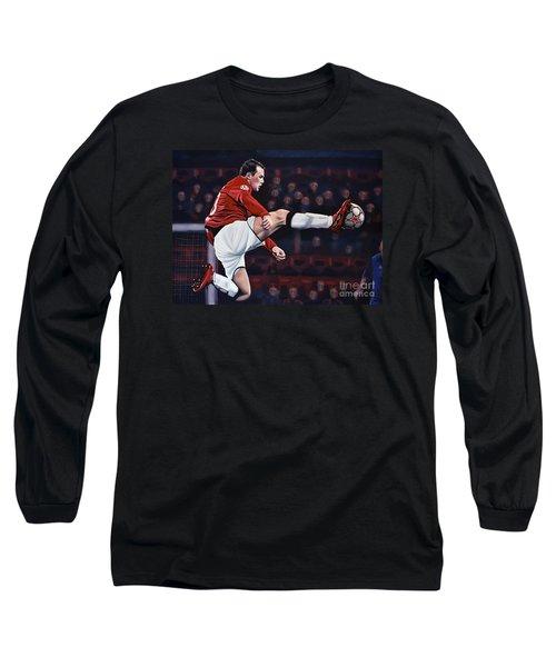 Wayne Rooney Long Sleeve T-Shirt