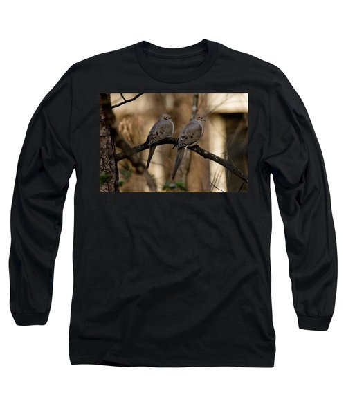 Long Sleeve T-Shirt featuring the photograph We Came Together - We're Leaving Together by Robert L Jackson