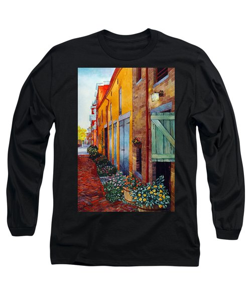 Weathered Door Rustic Path Long Sleeve T-Shirt