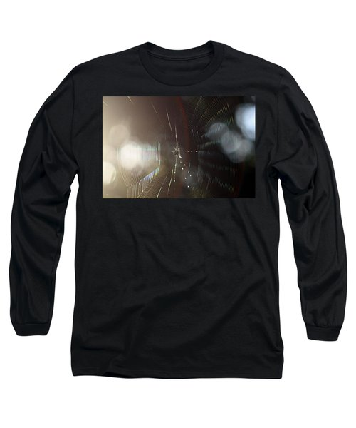 Web Of Flares Long Sleeve T-Shirt by Greg Allore