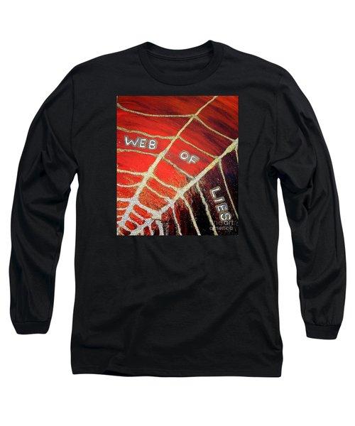 Web Of Lies Long Sleeve T-Shirt