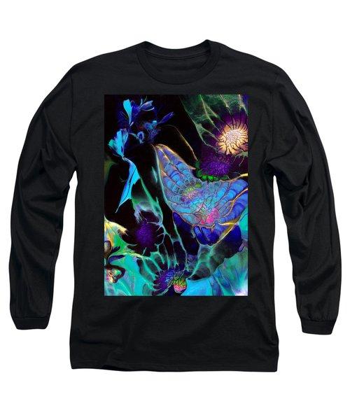 Webbed Galaxy Long Sleeve T-Shirt