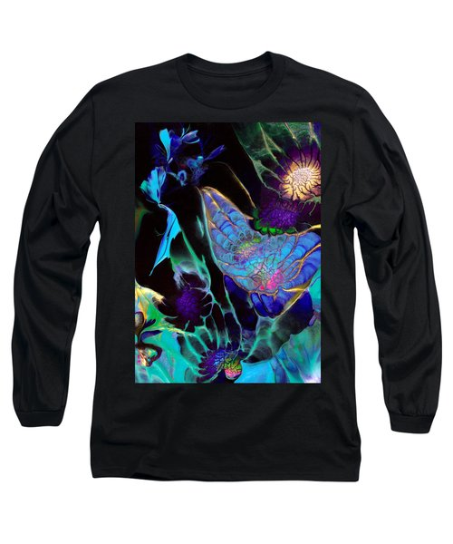 Webbed Galaxy Long Sleeve T-Shirt