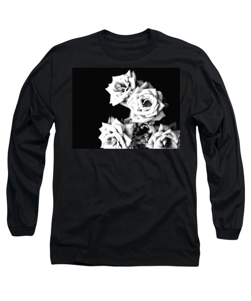 Weeping Roses Long Sleeve T-Shirt by Rachel Mirror
