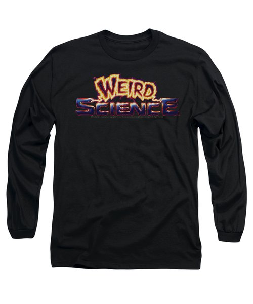 Weird Science - Galaxy Logo Long Sleeve T-Shirt