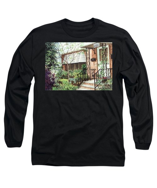 Welcome Home Long Sleeve T-Shirt by Barbara Jewell
