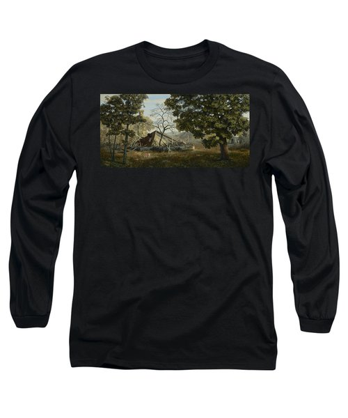 Welcome Home Long Sleeve T-Shirt by Duane R Probus