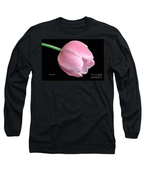 Welcome Spring In Pink Long Sleeve T-Shirt