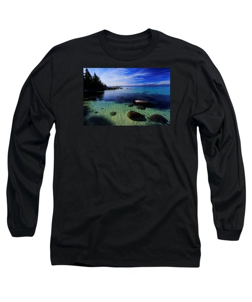 Long Sleeve T-Shirt featuring the photograph Welcome To Bliss Beach by Sean Sarsfield