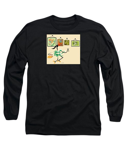 Welcome To My Art Show Long Sleeve T-Shirt
