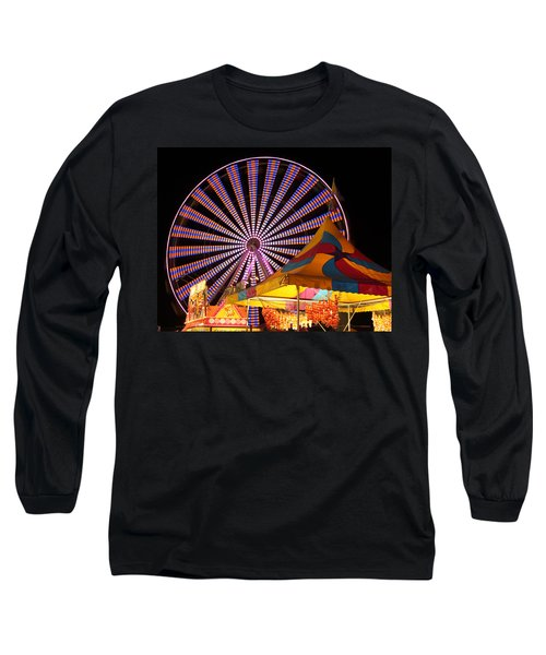 Welcome To The Nys Fair Long Sleeve T-Shirt by Richard Engelbrecht