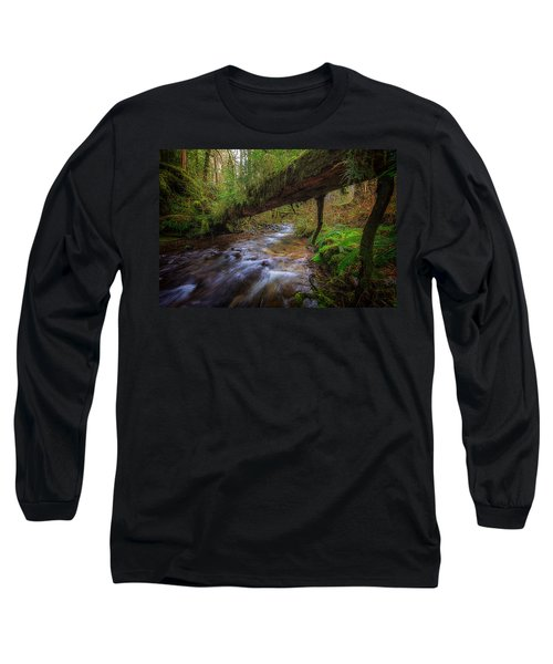 West Humbug Creek Long Sleeve T-Shirt by Everet Regal