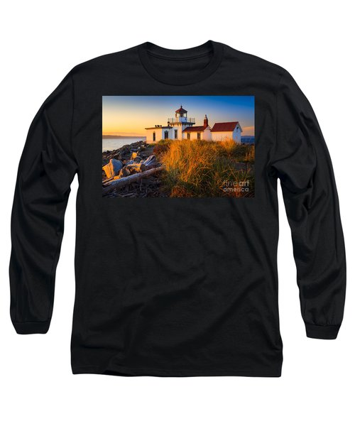 West Point Lighthouse Long Sleeve T-Shirt