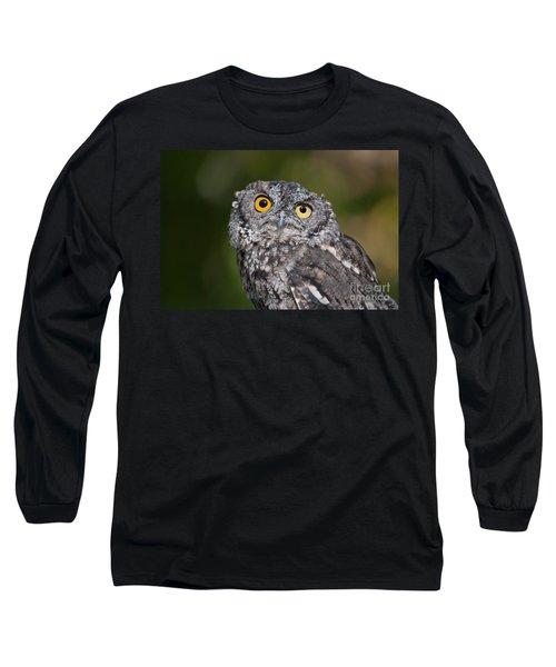 Western Screech Owl No. 3 Long Sleeve T-Shirt