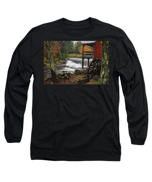 Weston Grist Mill Long Sleeve T-Shirt by Priscilla Burgers