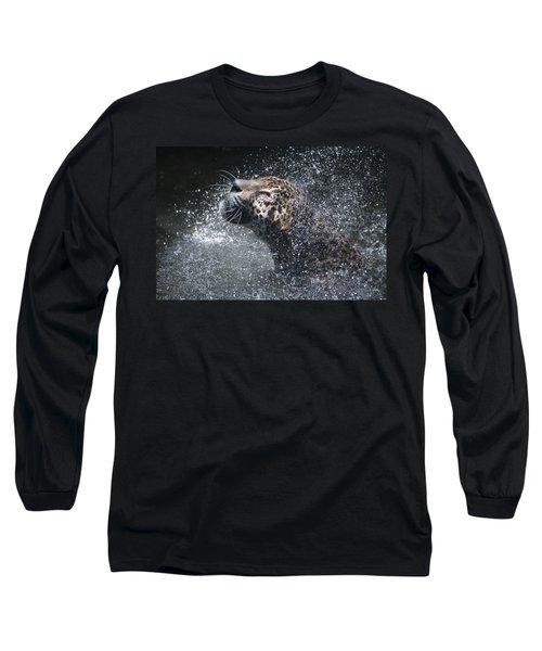 Wet Jaguar  Long Sleeve T-Shirt
