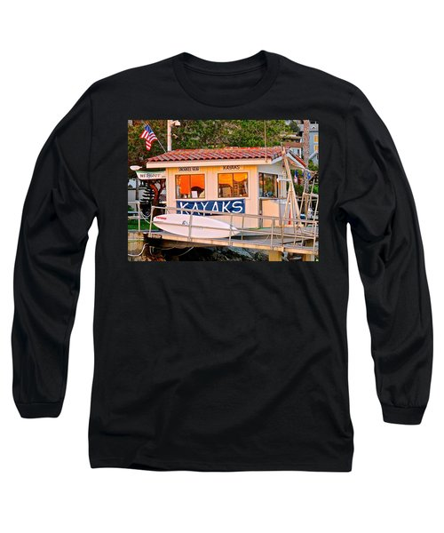 Wetspot Kayak Shack Long Sleeve T-Shirt