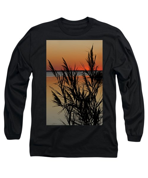 Long Sleeve T-Shirt featuring the photograph Whalehead Sunset Obx II by Greg Reed