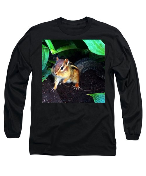 What Are You Looking At Long Sleeve T-Shirt by Sharon Duguay