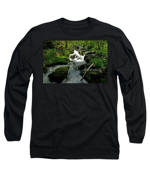 When Snow Melts Long Sleeve T-Shirt by Jeremy Rhoades