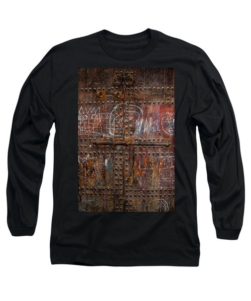 Marrakech Door Long Sleeve T-Shirt