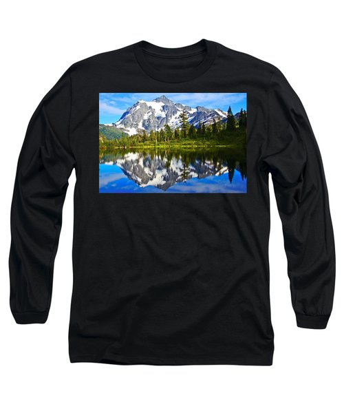 Long Sleeve T-Shirt featuring the photograph Where Is Up And Where Is Down by Eti Reid