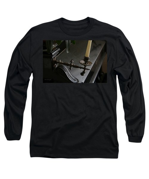 Where Music Once Played Long Sleeve T-Shirt by Yvonne Wright