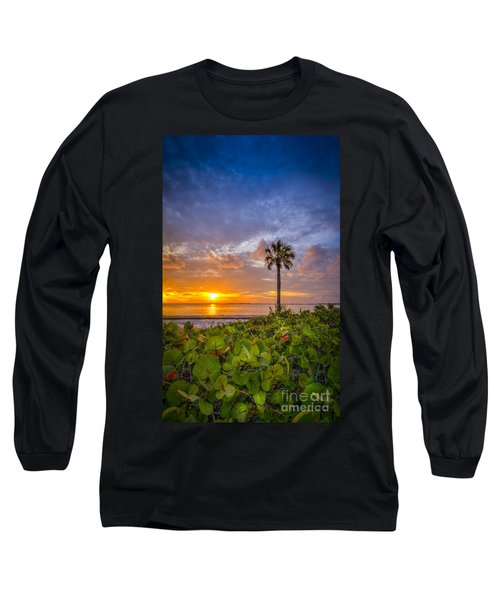Where The Heart Is Long Sleeve T-Shirt by Marvin Spates